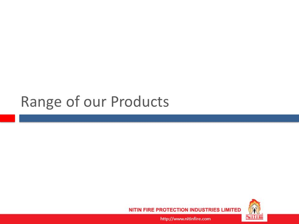 Range of our Products
