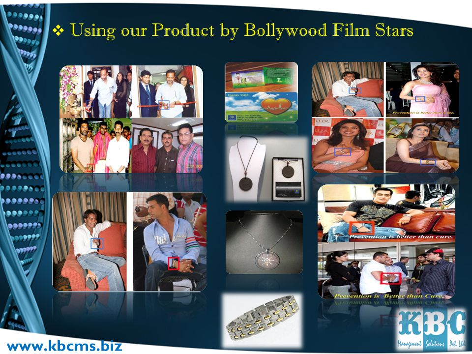 Using our Product by Bollywood Film Stars