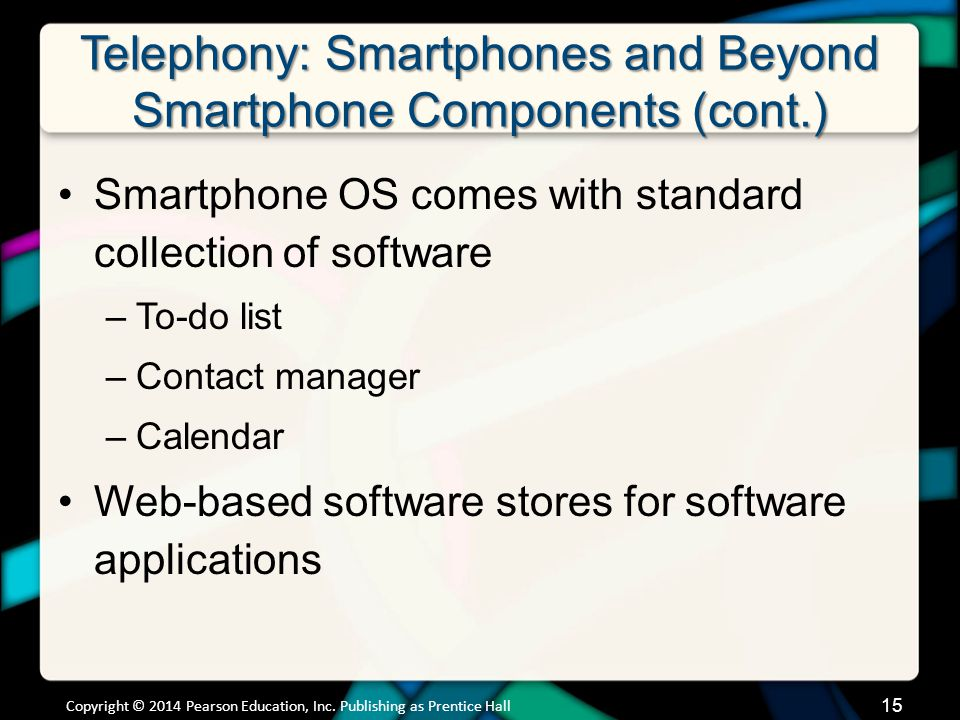 Telephony: Smartphones and Beyond How Cell Phone Technology Works