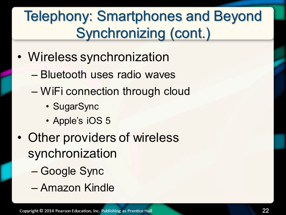Telephony: Smartphones and Beyond Text Messaging