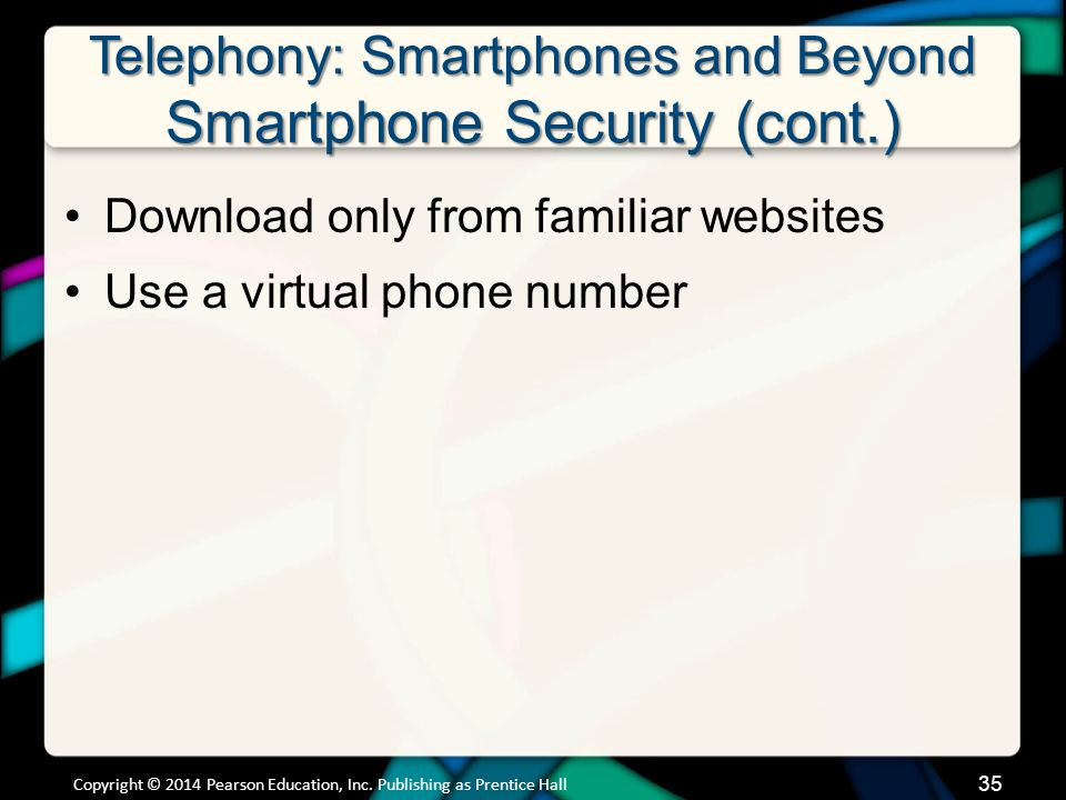 Telephony: Smartphones and Beyond VoIP