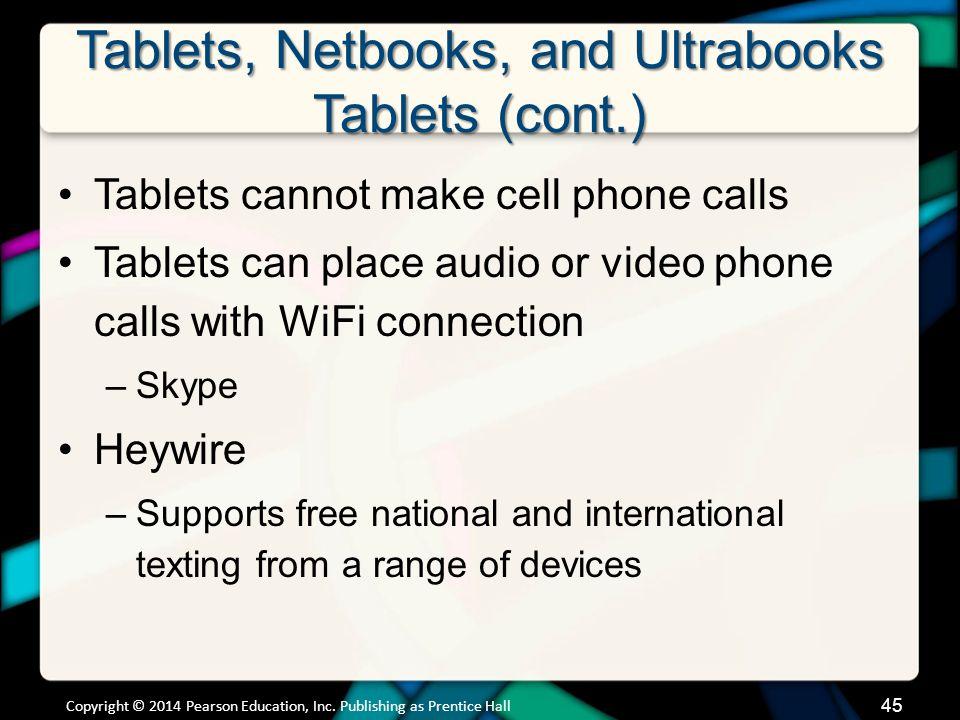 Tablets, Netbooks, and Ultrabooks Netbooks
