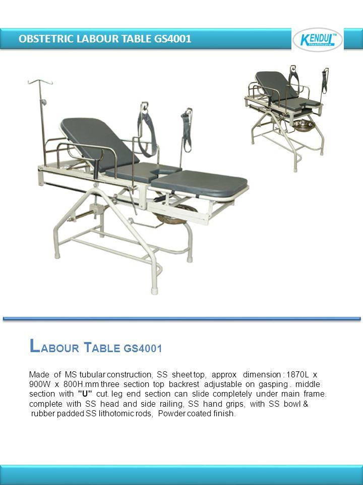 LABOUR TABLE GS4001 OBSTETRIC LABOUR TABLE GS4001