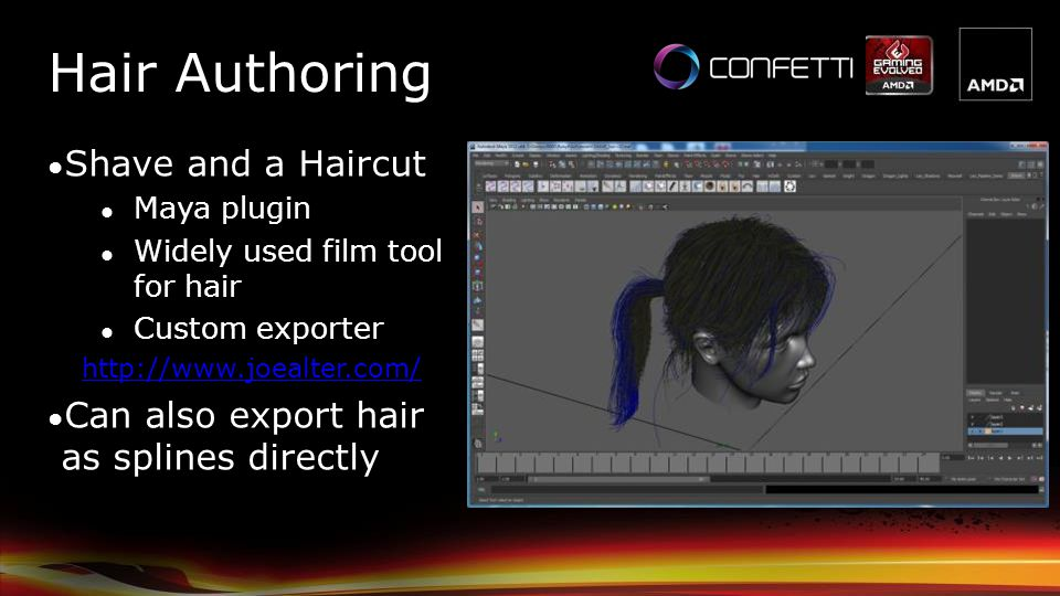 Hair Authoring Shave and a Haircut