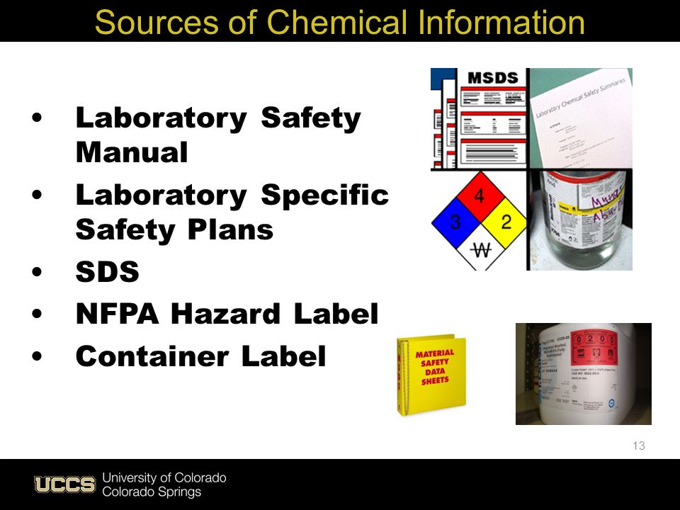 Sources of Chemical Information