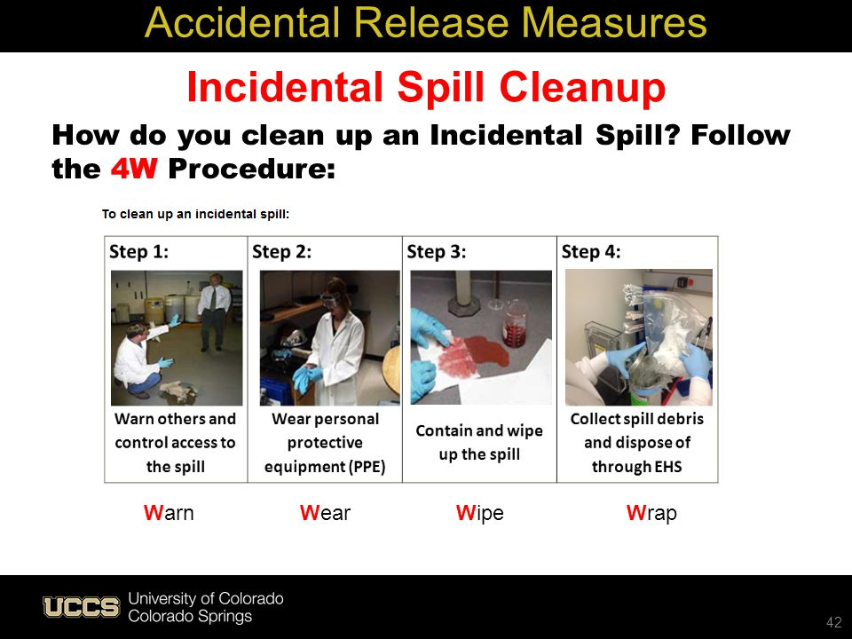 Incidental Spill Cleanup
