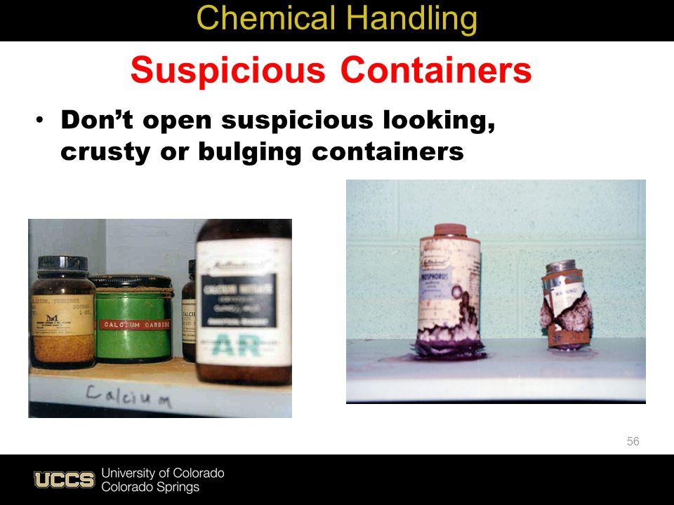 Suspicious Containers