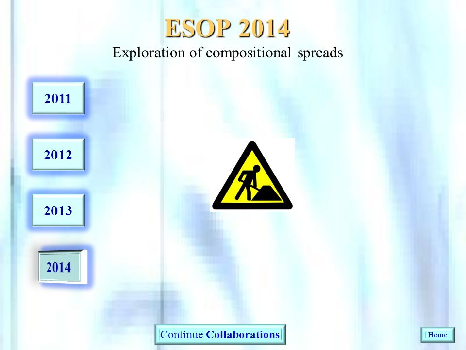 ESOP 2014 Exploration of compositional spreads