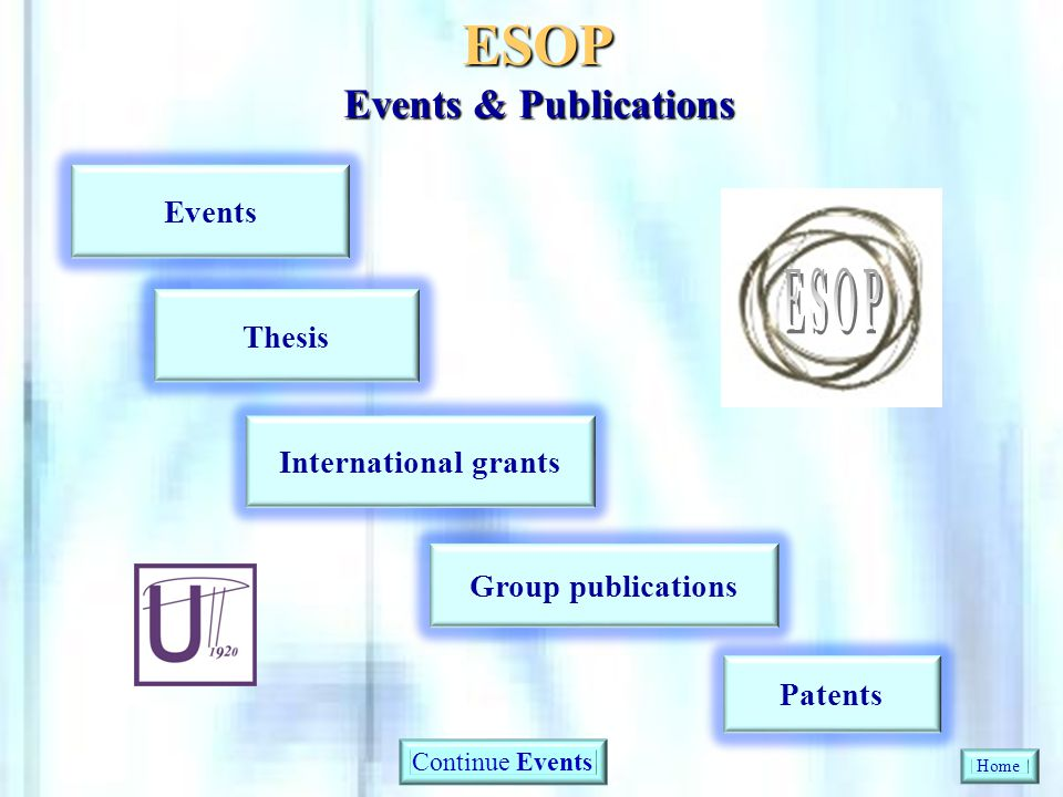 ESOP Events & Publications