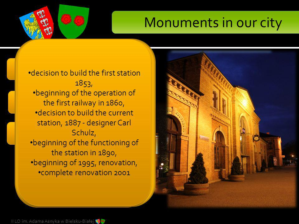 Monuments in our city