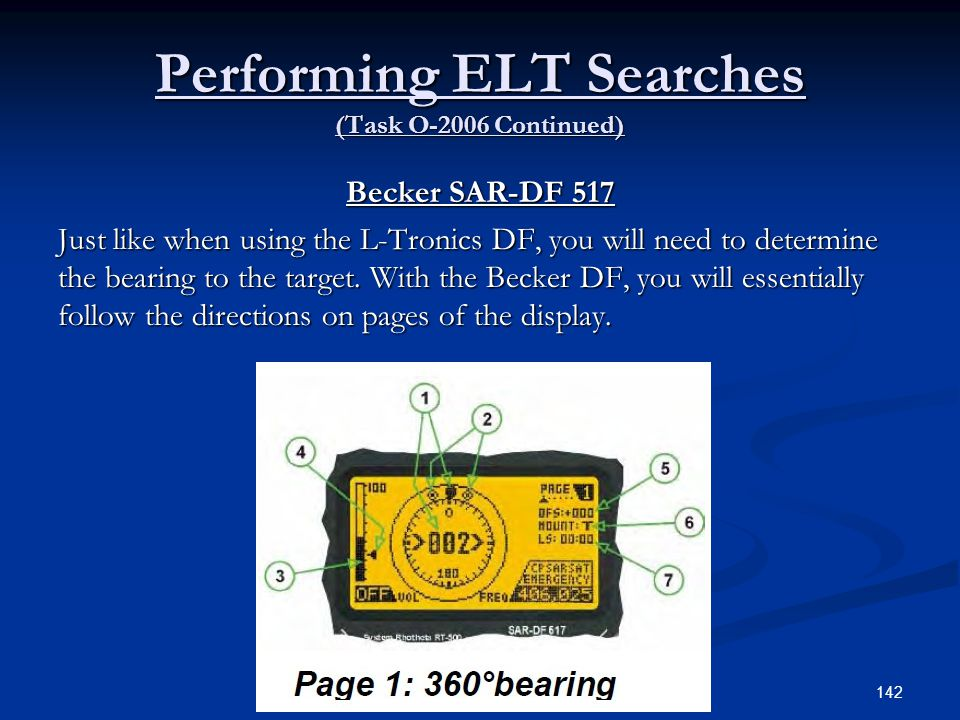 Performing ELT Searches (Task O-2006 Continued)