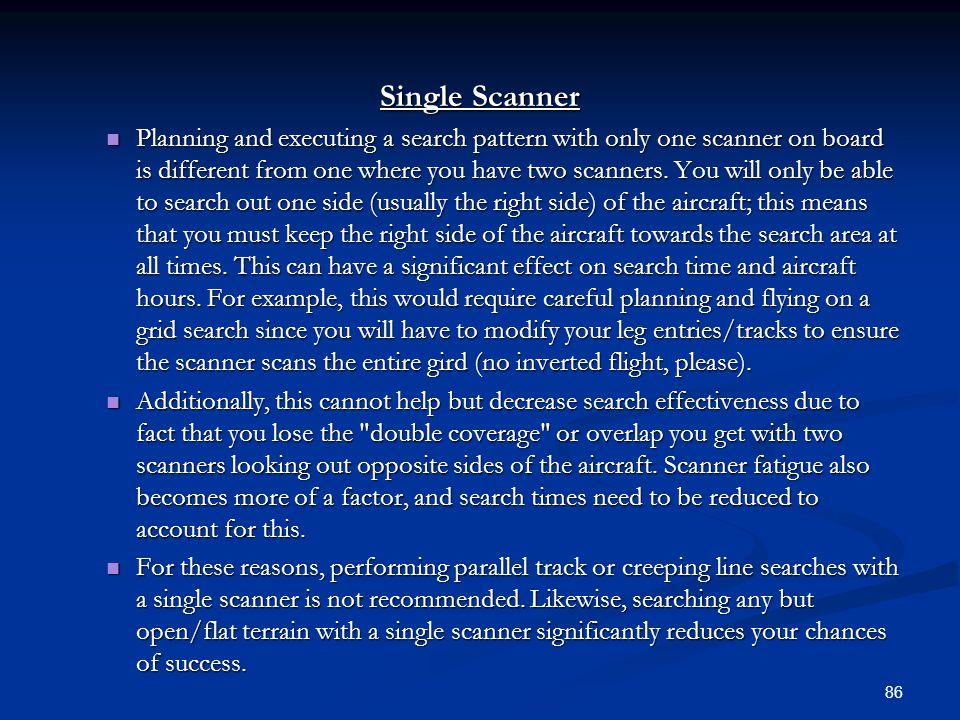 Single Scanner