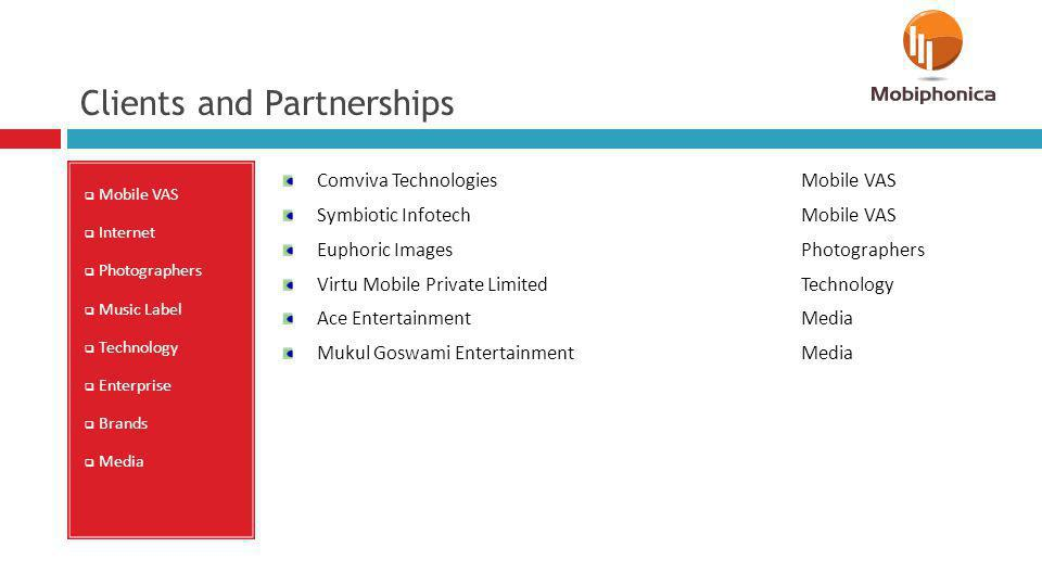 Clients and Partnerships