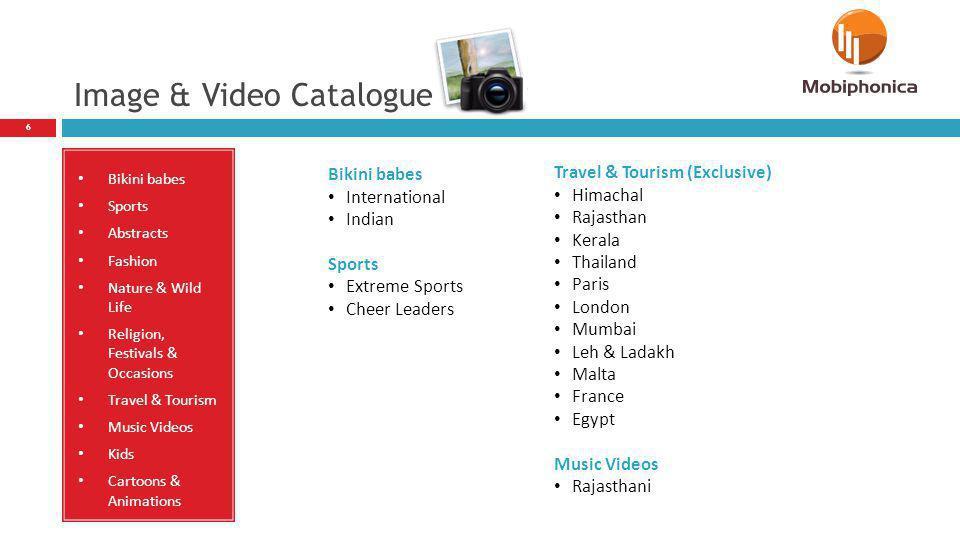 Image & Video Catalogue