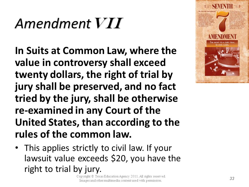 AmendmentVii