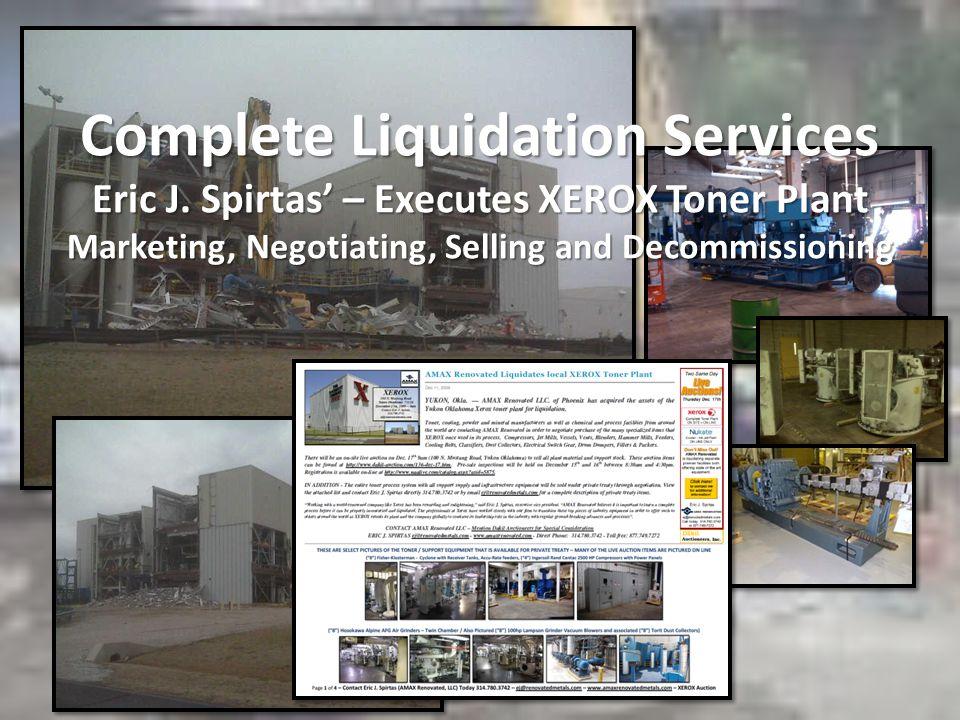 Complete Liquidation Services Eric J