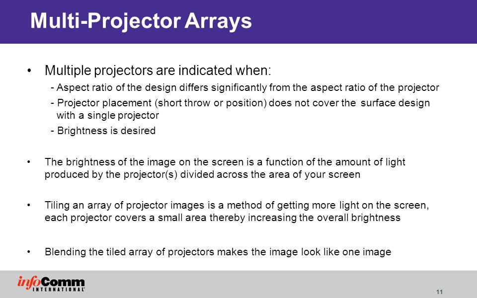 Multi-Projector Arrays