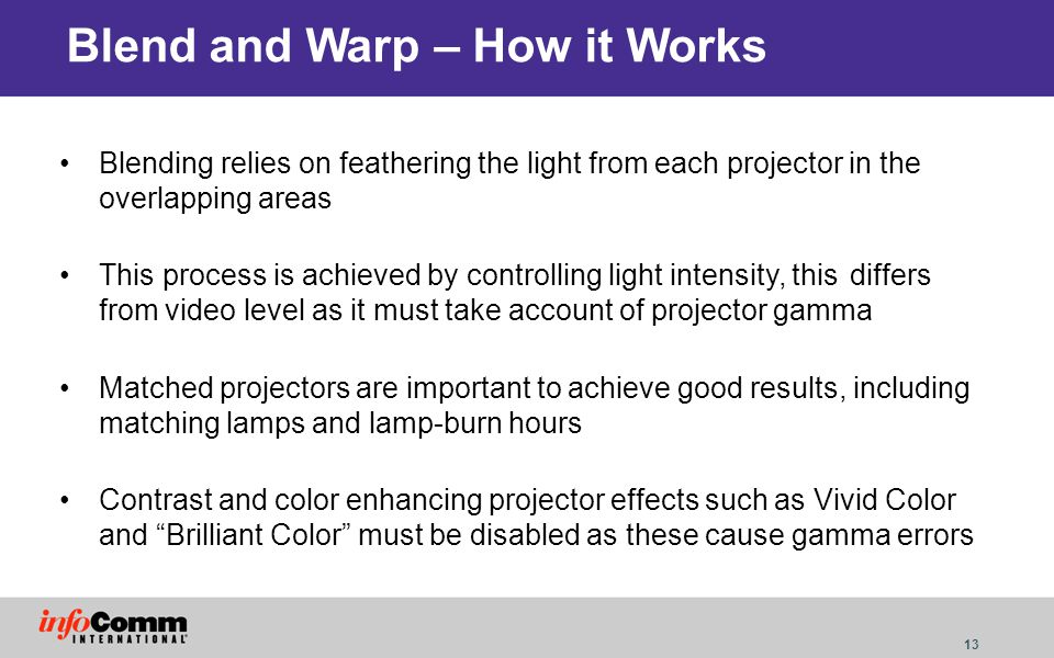 Blend and Warp – How it Works