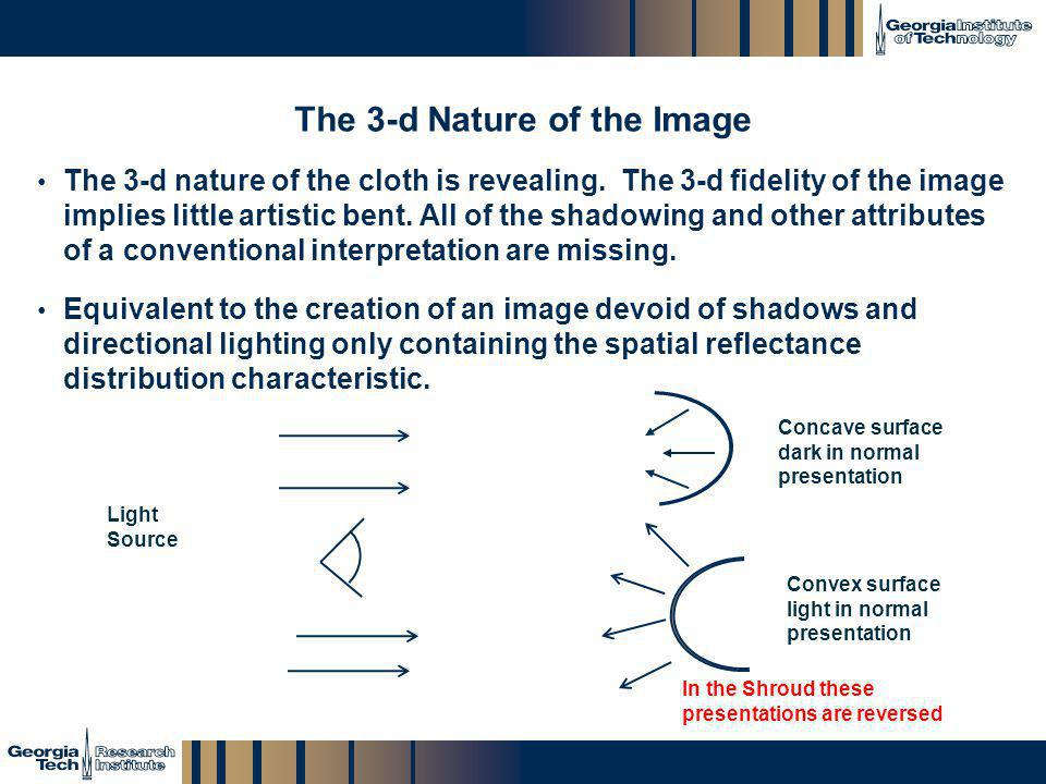 The 3-d Nature of the Image