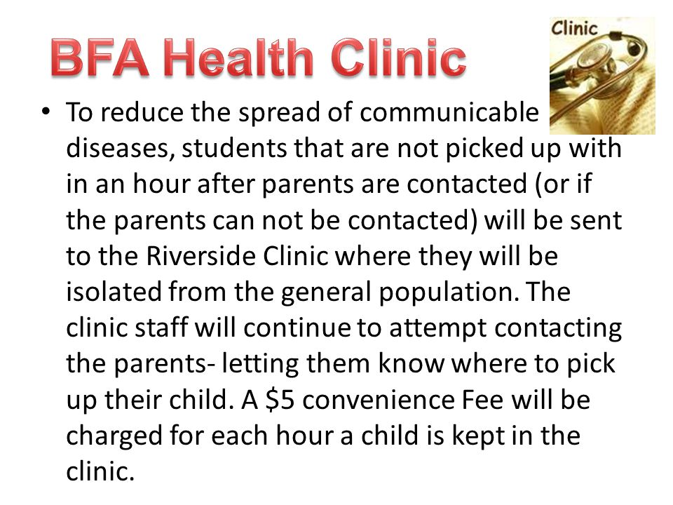 BFA Health Clinic