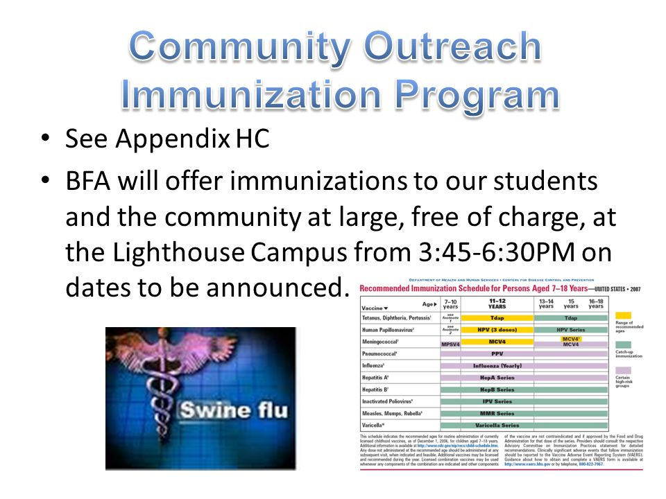 Community Outreach Immunization Program