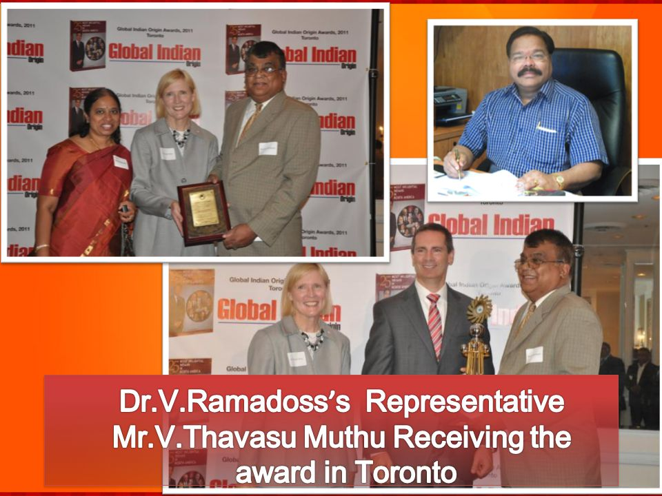 Dr.V.Ramadoss's Representative Mr.V.Thavasu Muthu Receiving the