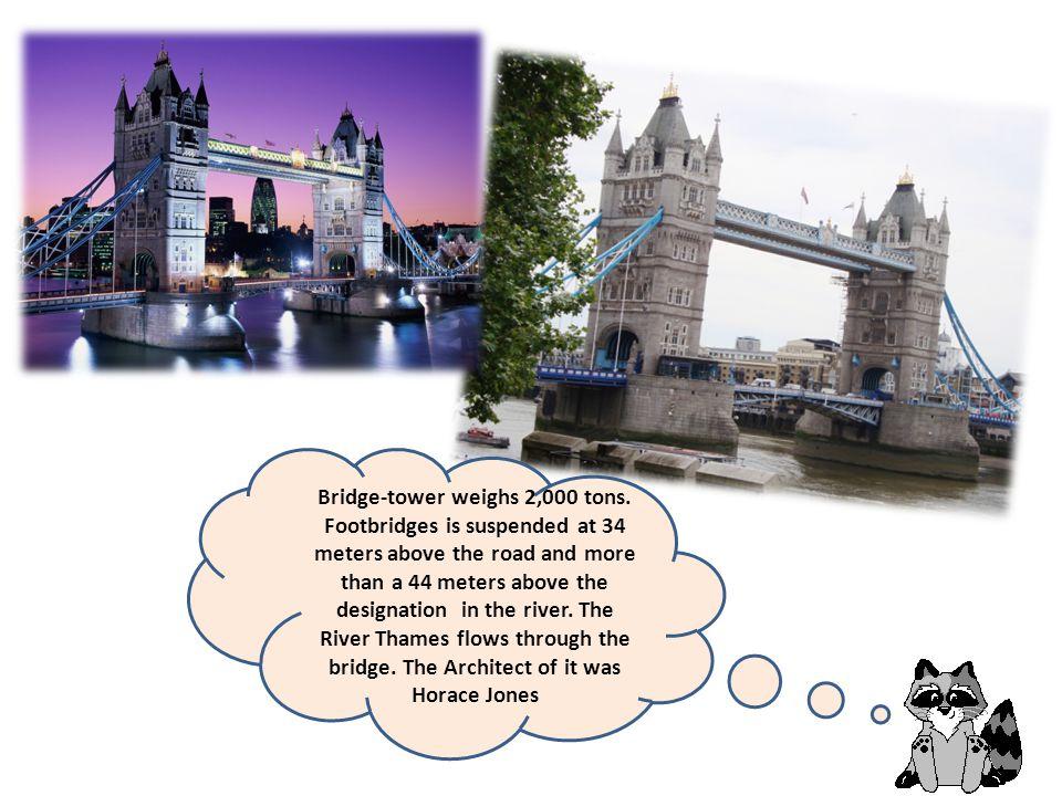 Bridge-tower weighs 2,000 tons