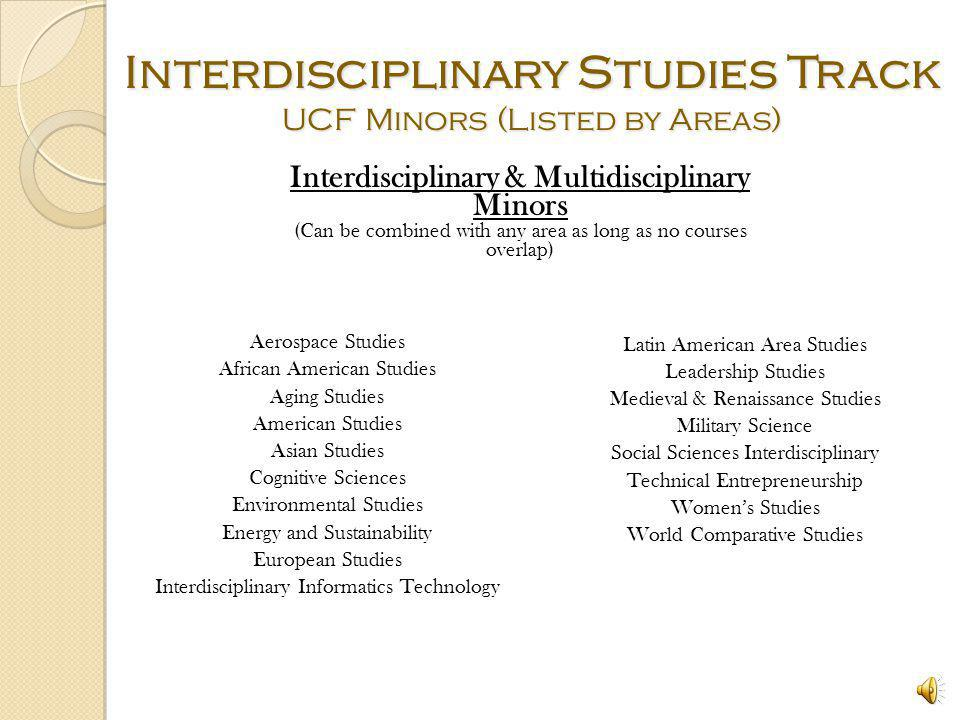 interdisciplinary study