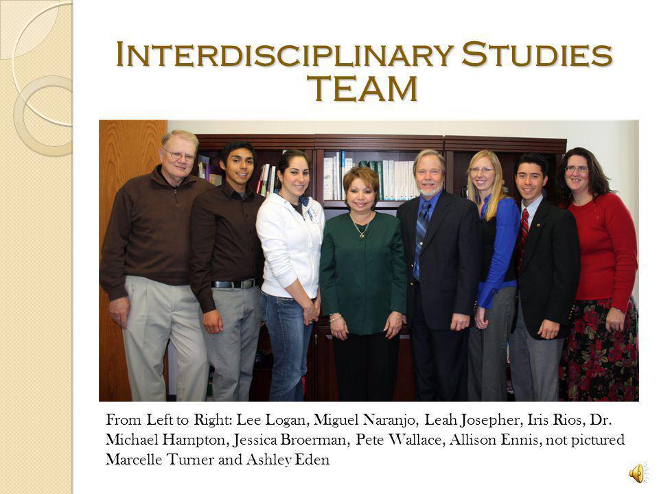 Interdisciplinary Studies TEAM