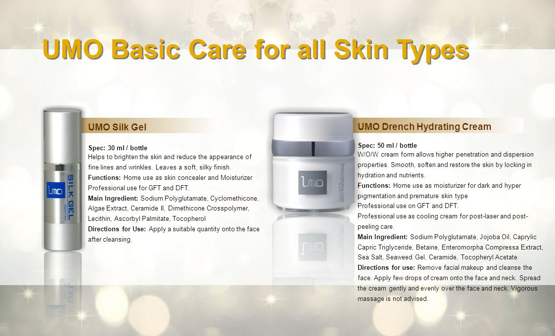 UMO Basic Care for all Skin Types