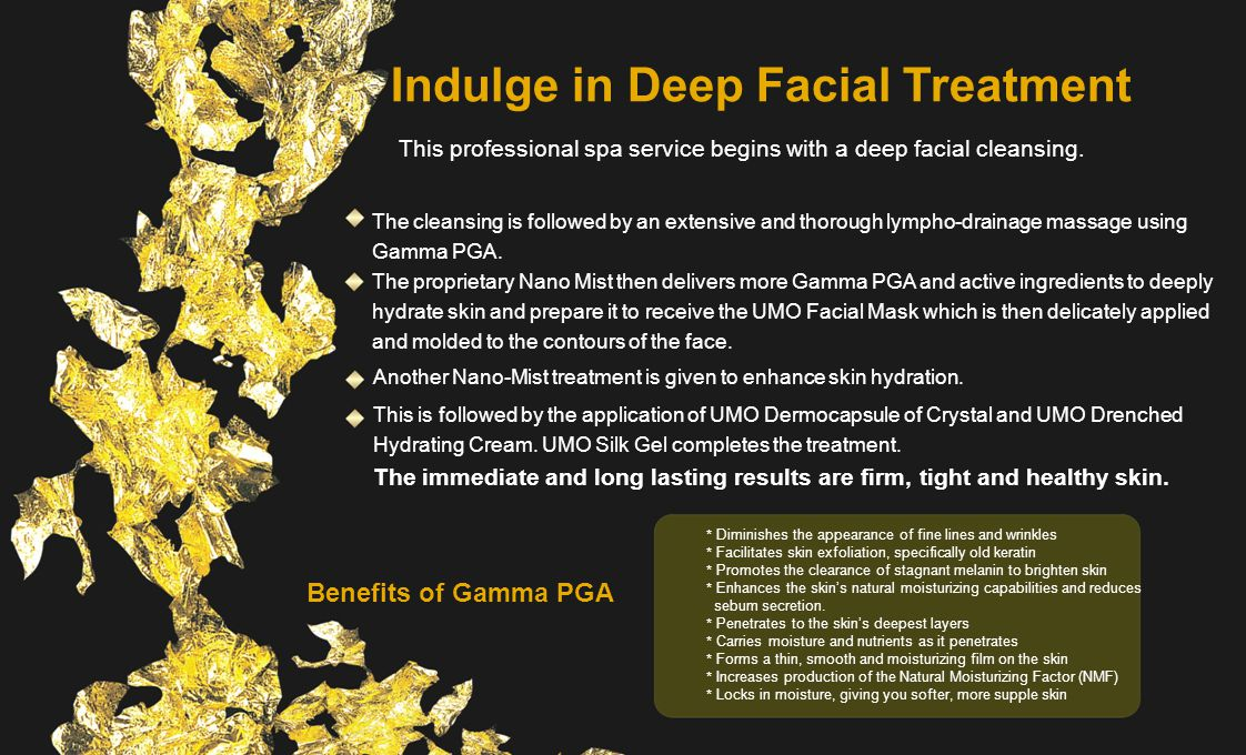 Indulge in Deep Facial Treatment