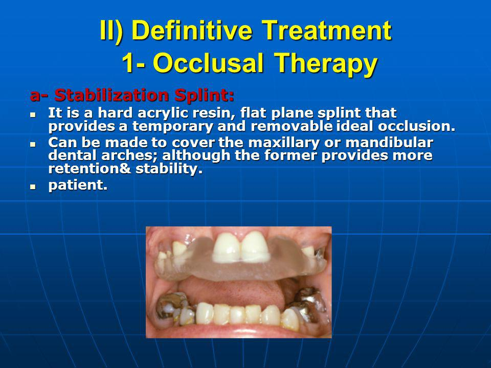 Tmj Disorders And Its Management Ppt Video Online Download
