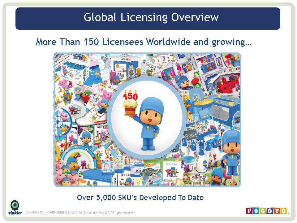Global Licensing Overview