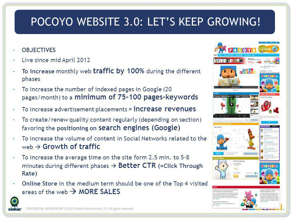 POCOYO WEBSITE 3.0: LET'S KEEP GROWING!