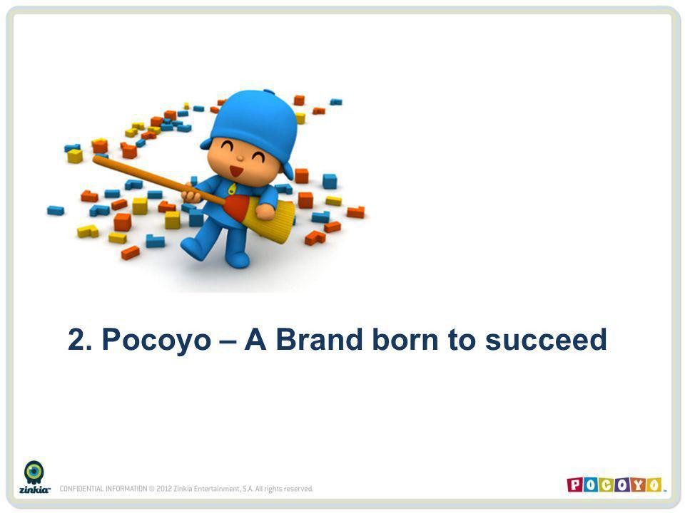 2. Pocoyo – A Brand born to succeed