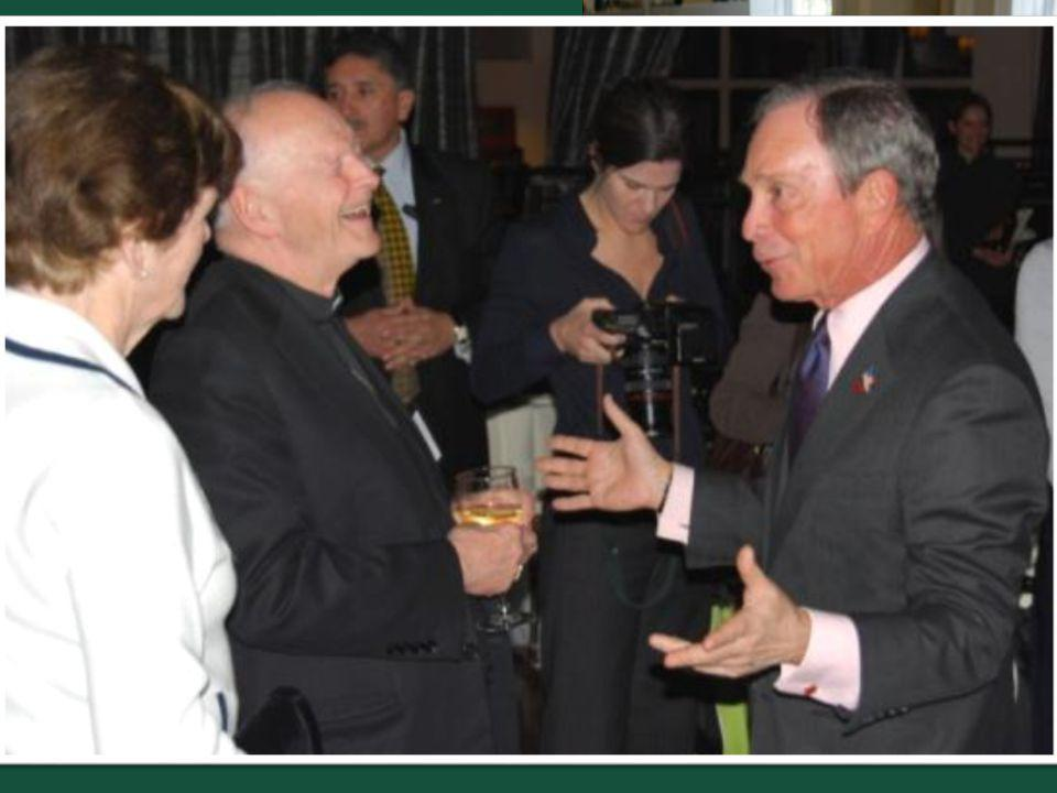 Honored Guest: Mayor Bloomberg