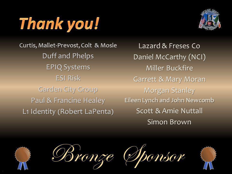 L1 Identity (Robert LaPenta) Lazard & Freses Co Daniel McCarthy (NCI)