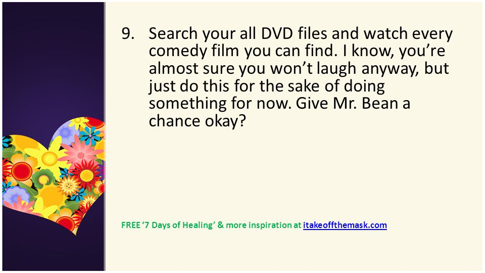 Search your all DVD files and watch every comedy film you can find