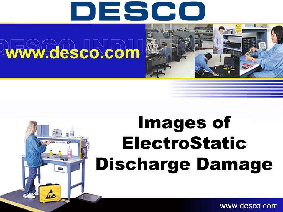 Images of ElectroStatic Discharge Damage