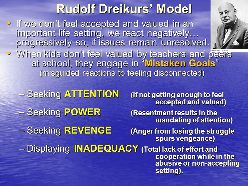 Rudolf Dreikurs' Model