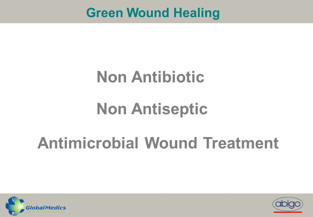Antimicrobial Wound Treatment