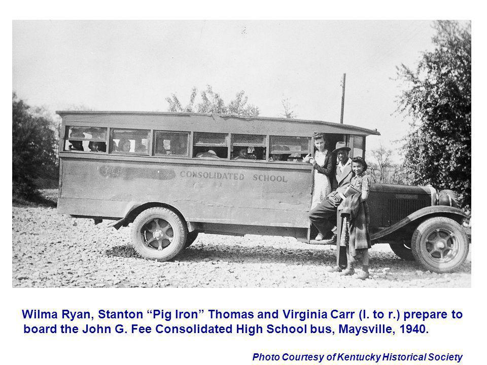 Wilma Ryan, Stanton Pig Iron Thomas and Virginia Carr (l. to r