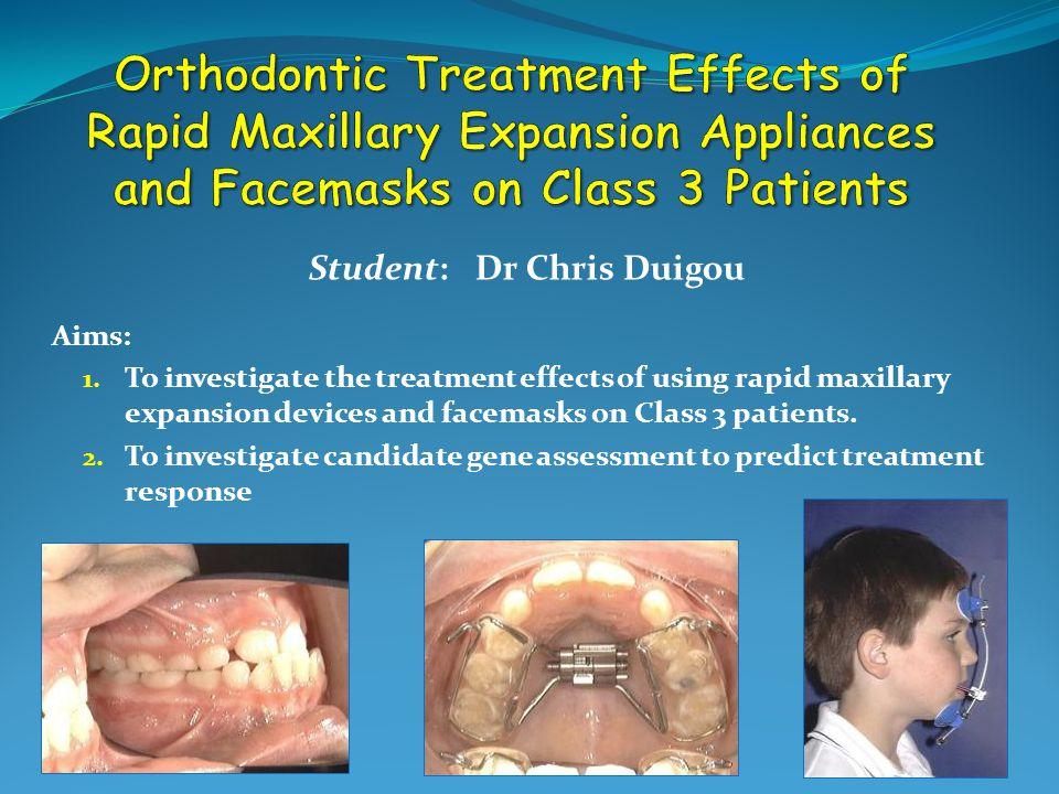 Student: Dr Chris Duigou