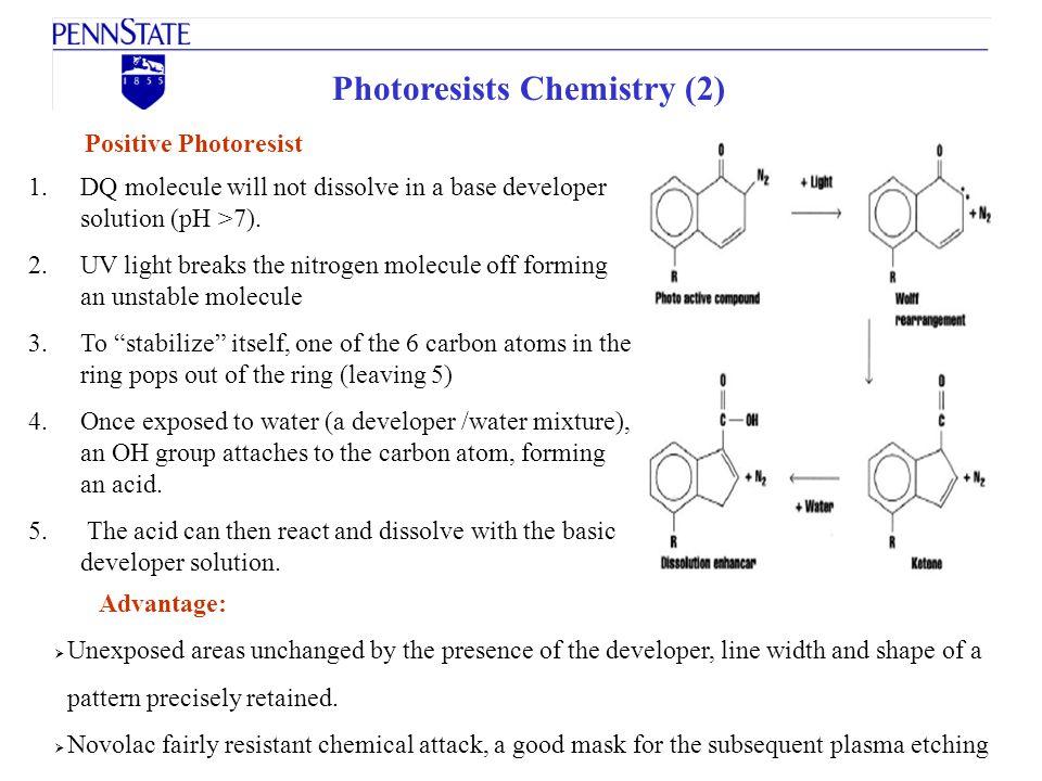 Photoresists Chemistry (2)