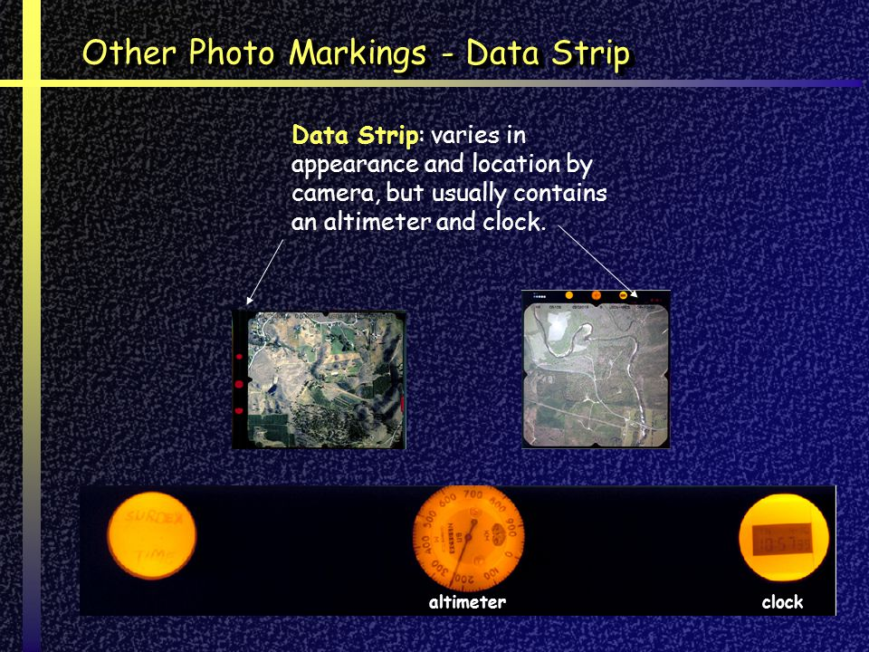 Other Photo Markings - Data Strip