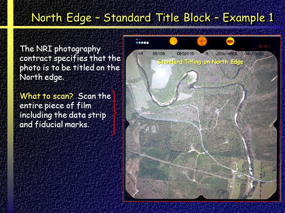 North Edge – Standard Title Block – Example 1