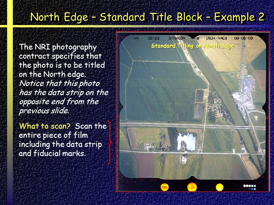 North Edge – Standard Title Block – Example 2