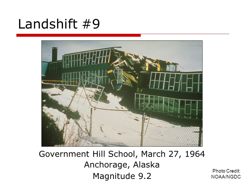 Government Hill School, March 27, 1964