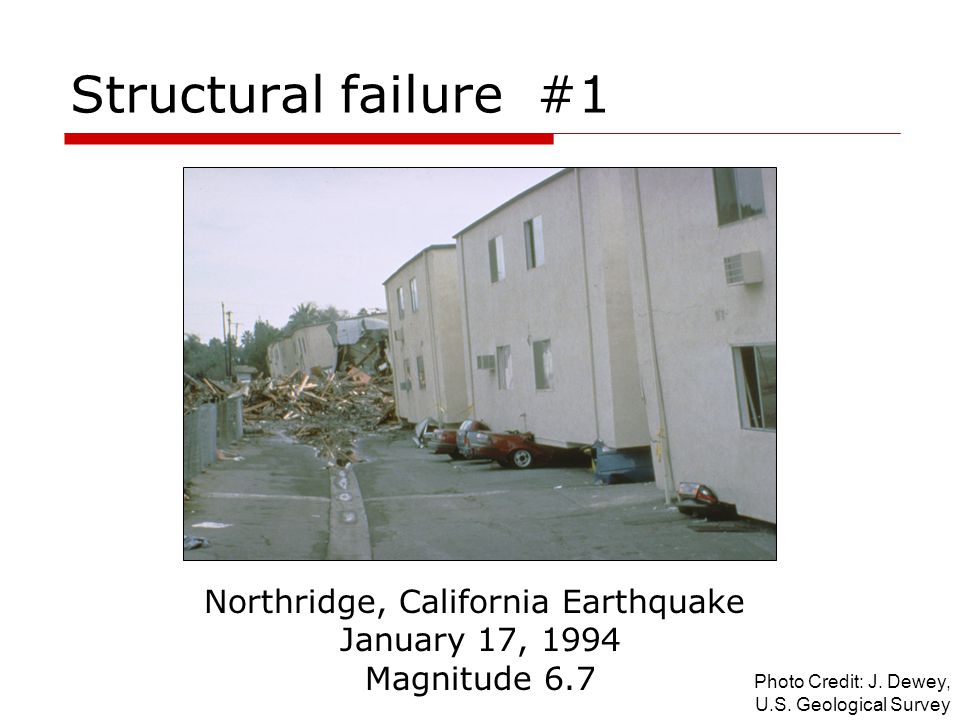 Northridge, California Earthquake