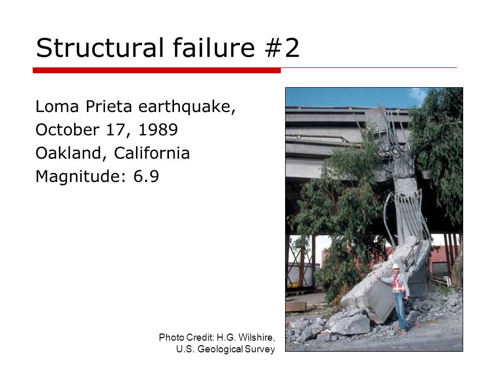 Structural failure #2 Loma Prieta earthquake, October 17, 1989